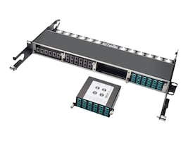 Tripp Lite 40G to 10G Breakout Cassette 2 12-Fiber MTP MPOto 12 LC Duplex, N484-2M12-LC12, 21327205, Network Device Modules & Accessories