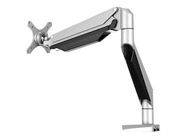 Loctek Gas Spring Single Monitor Arm for Displays up to 27, D7A, 35703494, Stands & Mounts - AV