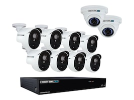 Night Owl 16-Channel Night Owl Extreme HD Video Security System, CL-HDA30-161022P-B, 34166931, Locks & Security Hardware