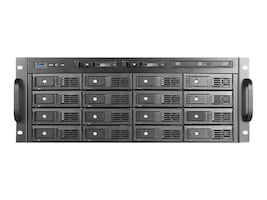 iStarUSA Chassis, M-4160 1x500W PSU, M-4160-50R8PD2, 33891292, Cases - Systems/Servers