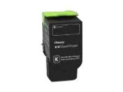 Lexmark Black Extra High Yield Return Program Toner Cartridge for CS421, CS521dn, CS622de, CX421adn, 78C1XK0, 35795771, Toner and Imaging Components - OEM