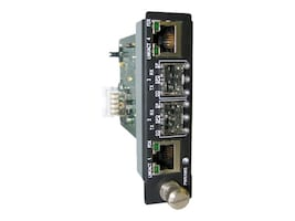MRV 2-Port GbE RJ-45 to SFP Fiber Media Converter, EM316GSW-XY, 13212811, Network Transceivers