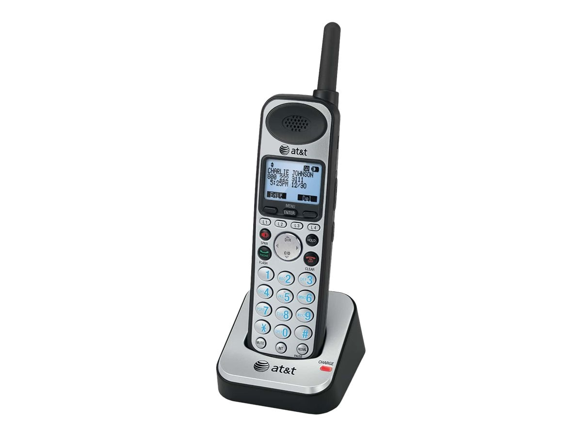 AT&T SynJ 4-line Accessory Cordless Handset for SB67118, SB67108, 10459106, Phone Accessories