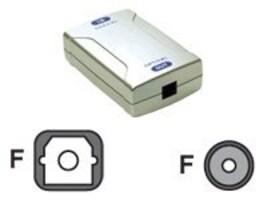 C2G Coax-Optical Digital Audio Converter, 40018, 7486568, Switch Boxes - AV