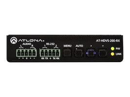 Atlona Ethernet-Enabled HDBaseT Scaler with HDMI and Analog Audio Outputs, AT-HDVS-200-RX, 32657998, Switch Boxes - AV