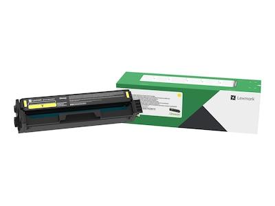 Lexmark Yellow High Yield Return Program Toner Cartridge for CS331dw, 20N1HY0, 37246160, Toner and Imaging Components - OEM
