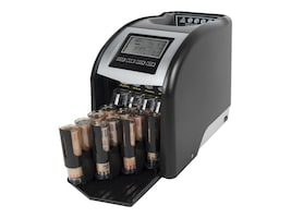 Royal Sovereign Auto 4 Row Advance Coin Sorter 312 Coins Per Min w  Digital Display, FS-44P, 31203821, Cash Drawers