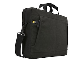Case Logic Huxton 15.6 Laptop Attache, Black, HUXA115BLACK, 30639956, Carrying Cases - Notebook