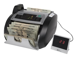 Royal Sovereign Bill Counter 200 Hopper 1000 Bills Min Backloading, RBC-2100, 31203847, Cash Drawers