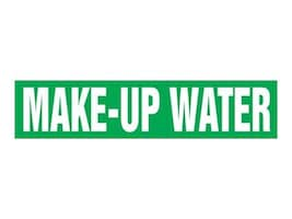 Panduit Snap-On Pipe Marker, Make-Up Water, Green, Size C, PPMS1405C, 36060937, Tools & Hardware