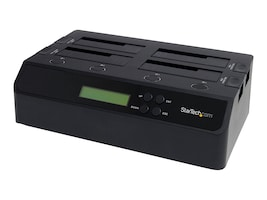 StarTech.com 4-Bay USB 3.0 eSATA to SATA Standalone 1:3 HDD Hard Drive Duplicator Dock, SATDOCK4U3RE, 13067870, Hard Drive Duplicators