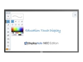 NEC 65 E651-T Full HD LED-LCD Touchscreen Display, Black, E651-T, 34176434, Monitors - Large Format - Touchscreen/POS