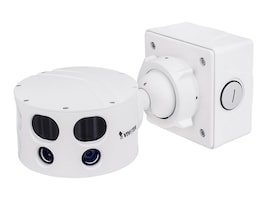 Vivotek 12MP IP66 IK10 180-Degree Multiple Sensor Camera, MS8391-EV, 33758942, Cameras - Security