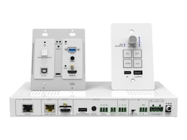 Siig Wallplate HDMI VGA HDBaseT Kit, CE-H23Z11-S1, 36082343, Switch Boxes - AV
