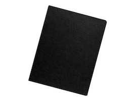 Neato Expressions Binding Covers, Linen Black, Oversize, 200-Pack, 52115, 15067401, Office Supplies