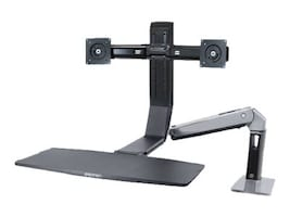 Ergotron WorkFit-A, Dual Mount, 24-312-026, 15559051, Furniture - Miscellaneous