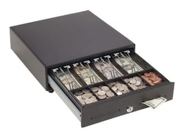 MMF POS 13w x 14d x 4h, M-Touch Release, 4-Bill 5-Coin Till, Black, MMFVAL1314M04, 28188201, Cash Drawers