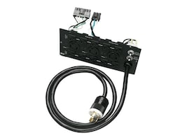 Tripp Lite Alt Back Panel Converts Hardwire to L6-30P for SU6000 UPS (13) Outlet 240V, SUPDM13, 5167045, Battery Backup Accessories