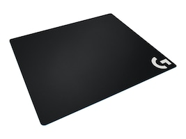 Logitech G640 Large Cloth Gaming Mouse Pad, Black, 943-000088, 33526607, Ergonomic Products