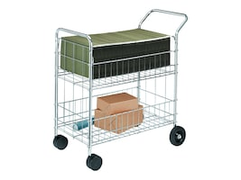 Fellowes Mail Cart, 40912, 6763682, Computer Carts
