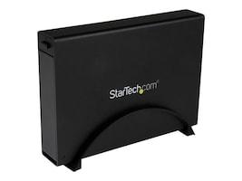 "StarTech.com USB 3.0 Trayless External 3.5"" SATA 6Gb s Hard Drive Enclosure w  UASP - Black, S3510BMU33T, 16426188, Hard Drive Enclosures - Single"