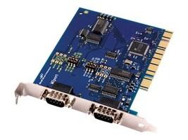 Quatech 3PCIOU2 Main Image from Left-angle