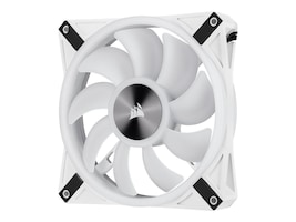 Corsair iCUE QL140 RGB 140mm RGB PWM Fan, White, CO-9050105-WW, 38111566, Cooling Systems/Fans