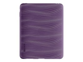 Belkin Laser Silicone Sleeve for iPad, Royal Purple, F8N382TT143, 11528311, Protective & Dust Covers