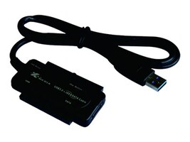 Premiertek USB 3.0 to 2.5 3.5 5.25 SATA IDE Adapter, UB-3235S, 32913648, Adapters & Port Converters