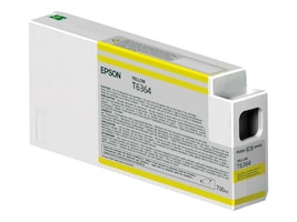 Epson Yellow UltraChrome HDR Ink Cartridge - 700ml for Stylus Pro 7890, 7900, 9890 & 9900 Series Printers, T636400, 12424767, Ink Cartridges & Ink Refill Kits - OEM