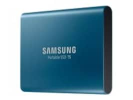Samsung 250GB T5 USB 3.1 Portable Solid State Drive, MU-PA250B/AM, 34488198, Solid State Drives - External