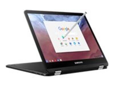 Samsung Chromebook Pro Core m3-6Y30 0.9GHz 4GB 32GB SSD ac BT WC 12.3 QHD MT ChromeOS Black, XE510C24-K01US, 34097883, Notebooks - Convertible