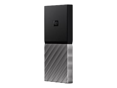 WD 512GB My Passport USB 3.1 Portable Solid State Drive, WDBK3E5120PSL-WESN, 34349796, Solid State Drives - External