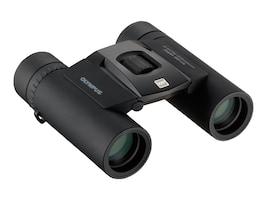 Olympus 10 x 25 WP II Binoculars, Black, V501012BU000, 14702185, Binoculars