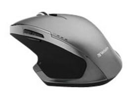 Verbatim Wireless Desktop 8-Button Deluxe Blue LED Mouse, Graphite, 98622, 21811646, Mice & Cursor Control Devices