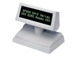 Epson DM-D805 Pole Display Kit, 2 x 20, USB, Requires Base, Cool White, A61B133102, 7898028, POS Pole Displays