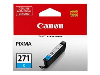 Canon Cyan CLI-271 Ink Tank, 0391C001, 32709954, Ink Cartridges & Ink Refill Kits - OEM