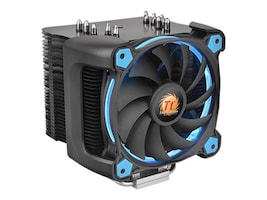 Thermaltake Riing Silent 12 Pro Blue CPU Cooler, CL-P021-CA12BU-A, 35101127, Cooling Systems/Fans