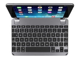 Brydge BrydgeMini Bluetooth Keyboard for iPad mini 1 2 3, Space Gray, BRY5002, 35113742, Keyboards & Keypads