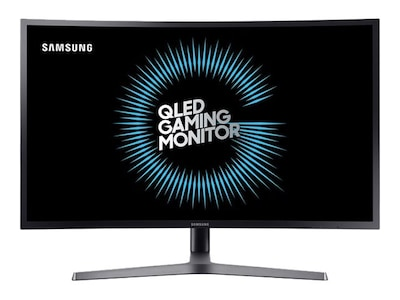 Samsung 31.5 CHG70 Quad HD LED-LCD Curved Monitor, Blue Gray, C32HG70QQN, 34326607, Monitors