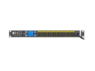 Eaton ePDU MA 12A 1-ph 1U 5-15P Input (8) 5-15R Outlets, EMAT08-10, 32170346, Power Distribution Units