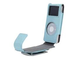 Belkin IPOD NANO FLIP CASE  BLUE, F8Z059-BLU, 41122846, Digital Media Player Accessories - iPod