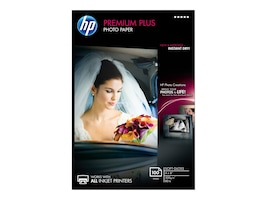 HP 4 x 6 Premium Plus Soft Gloss Photo Paper (100 Sheets), CR666A, 12896721, Paper, Labels & Other Print Media