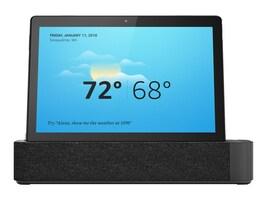 Lenovo Bundle Smart Tab M10 Snapdragon 450 1.8GHz 3GB 32GB ac BT 2xWC 10.1 FHD MT Android w Dock, ZA480122US, 36601027, Tablets