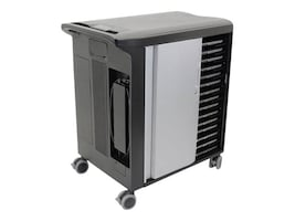Dell 30-Device Network Ready Charging Cart, 0317X, 35101813, Computer Carts
