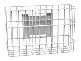 4 x 8 x 12 Rear Mount Wire Basket, 51-3593, 16118089, Computer Carts - Medical
