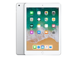 Apple iPad 9.7 128GB, Wi-Fi, Silver, MR7K2LL/A, 35365392, Tablets - iPad