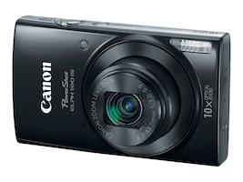 Canon PowerShot ELPH 190 IS Digital Camera, Black, 1084C001, 31823966, Cameras - Digital
