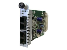 Transition Single Mode to MMF Converter 1300NM MM to 1300NM MM SC 2KM, CFMFF1313-200, 8521880, Network Transceivers