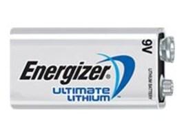 Energizer 9V Ultimate Lithium Battery, 2-Pack, L522BP-2, 34513015, Batteries - Other